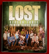 J J Abrams' LOST -  Season Three - OFFICIAL BINDER / ALBUM - Inkworks 2007