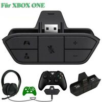 Stereo Headset Headphone Audio Game Adapter For Microsoft Xbox One Controller