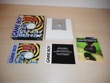 Brain Drain Complete Game Boy CIB Nintendo Original