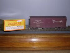 ACCURAIL #3210  C.& N.W. 40' AAR Steel Box Car #108102 Weathered H.O.Gauge