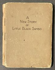 A New Story of Little Black Sambo Earnest Vetsch 1926 Miniature Book
