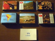 LOTTO 133 FIGURINE IL MONDO (Solaris 1978) geografia viaggi RARE!