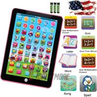 Baby Kids Children Laptop Tablet Toy Educational Early Learning Machine Fun Gift