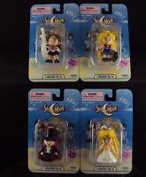 Set of 12 Irwin Sailor Moon Keychain Clip On New in Box Luna Tuxedo Mask Artemis