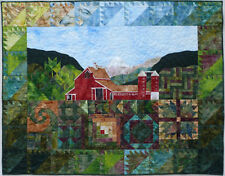 Quilt PATTERN Barn meadow sampler bear paw snail trail You can see it from here