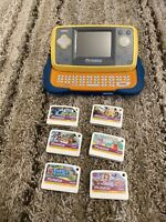 Vtech MobiGo Touch Learning System Bundle with 6 Games and Carrying Case Works