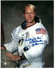 Apollo 15 NASA Astronaut Al Worden Signed Photo