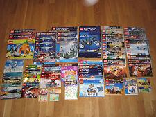 Sammlung LEGO 87x Bauanleitungen - 3,3KG - Liste in Beschreibung