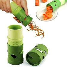 Vegetable Spiral Slicer Fruit Cutter Peeler Spiralizer Twister Kitchen Tool