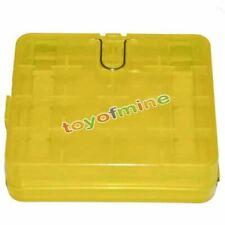 1x Hard Portable Plastic Battery Case Holder Storage box-4x 18650 17670/8xCR123A