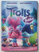 Trolls Holiday (DVD, 2017, Canadian) - New Sealed with Slipcover