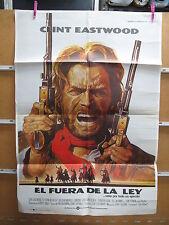A3624 El fuera de la ley Clint Eastwood,  Chief Dan George,  Sondra Locke,  John