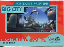 Robots The Movie Postcards From The Big City Chase Card PC-3