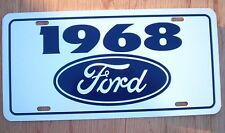 1968 Ford license Plate tag 68 Torino GT Fairlane Mustang Thunderbird Ranchero