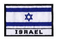 Patch écusson patche drapeau à coudre pays ISRAEL Israël 70 x 45mm