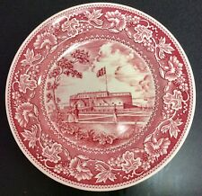 "Wedgewood George Washington Commemorative Plate Series ""Castle Garden�"