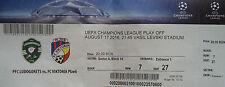 TICKET UEFA CL 2016/17 Ludogorets Rasgrad - Viktoria Pilsen
