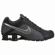 Womens Nike SHOX JUNIOR Running Shoes -Black -454339 020 -nz turbo -Sz 8.5 -New