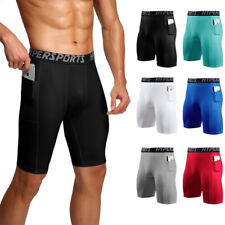 Mens Compression Shorts Gym Sports Fitness Base layer Underwear Athletic Workout