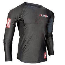Kompressions T-Shirt in Premiumqualität_Spezielles Strechmaterial_Farbe schwarz