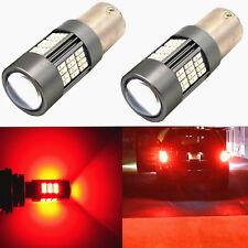 Alla Lighting 1156 54-LED Brake Tail Center High Mount Stop Light Bulb Lamp, RED