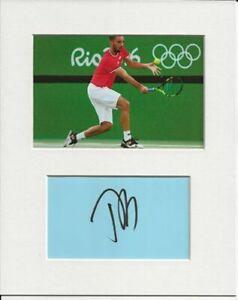 Viktor Troicki tennis signed genuine authentic autograph signature and photo COA