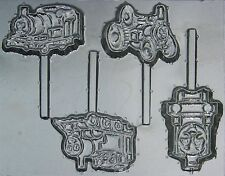 Thomas the Tank Friends Chocolate Lollipop Candy Mold 442 NEW