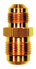 JMF  5/8 in. Flare   x 1/2 in. Dia. Flare  Yellow Brass  Reducing Union
