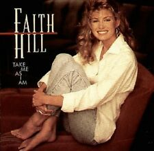Faith Hill - Take Me As I am CD ( 10 Track ) 1993