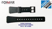 VINTAGE CASIO ORIGINAL BAND W-10 - W-14 NOS