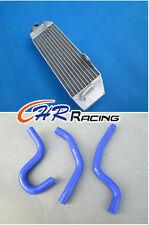 Aluminum Radiator for Honda CR80 CR 85 80 CR85R CR85 1997-2008+HOSE BLUE NEW