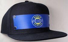 Hat Cap Front Nylon Strap Chevrolet Chevy Super Service Black CHAQ