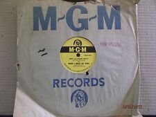 """MGM 10"""" 78/Jimmy & Mildred Mulcay/When I Write My Song/Wagon Wheels/E!!!"""