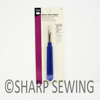 DRITZ DELUXE SEAM RIPPER - HEAVY DUTY BLADE QUILTING SEWING STITCH REMOVER D638