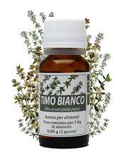 TIMO BIANCO olio essenziale puro 10 ml - Salus in erbis