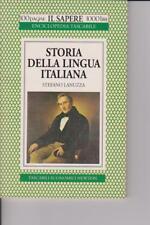 Storia della lingua italiana di Stefano Lanuzza - 1994