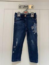 Girls Unicorn Jeans. Next. Age 3 Years