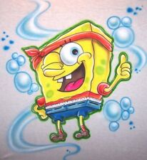 Gangsta Sponge Bob Custom Airbrushed T-Shirt Personalize with Any Name XS - 3XL