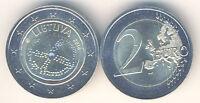 2 Euro Gedenkmünze 2016 Litauen Baltische Kultur