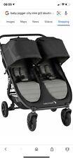 Baby Jogger City Mini Gt2 doble en pizarra Nuevo-modelo más reciente