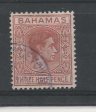 D337 Bahama's 161 gestempeld