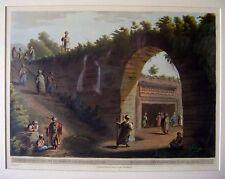 ENGRAVINGS PALESTINE/HOLY LAND ENTRANCE SEPULCHRE OFJUDAH KING  LUIGI MEYER 1803