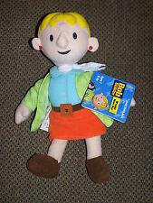 "Hasbro Playskool Plush Wendy Doll Bob The Builder Bean Bag Mini Pal  8"" Tall"