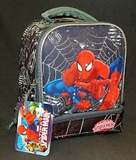 Ultimate Spider-Man Dual-Chamber Lead-Safe Insulated Lunch Tote Box Nwt $25
