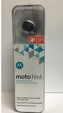 New Motorola Bluetooth moto hint 2nd generation Wireless bluetooth headset