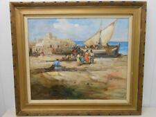 REDUCED! FRANCISCO RODRIGUEZ SAN CLEMENT (1878-1956) Spanish Genre Impressionist