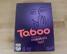 NEW TABOO HASBRO FAMILY NIGHT PARTY BOARD GAME FUN