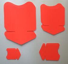 20 Pfeile 4 Größen leuchtrot Preisschild Karton Neon Werbung deko Schaufenster