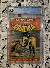 🔥 TOMB of DRACULA #1 CGC 5.0 FIRST APPEARANCE OF DRACULA 🔥