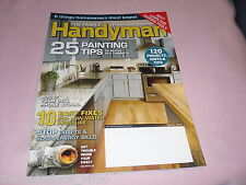 The Family Handyman Magazine March 2016 Painting Tips Pipe Trouble Lawn Garden